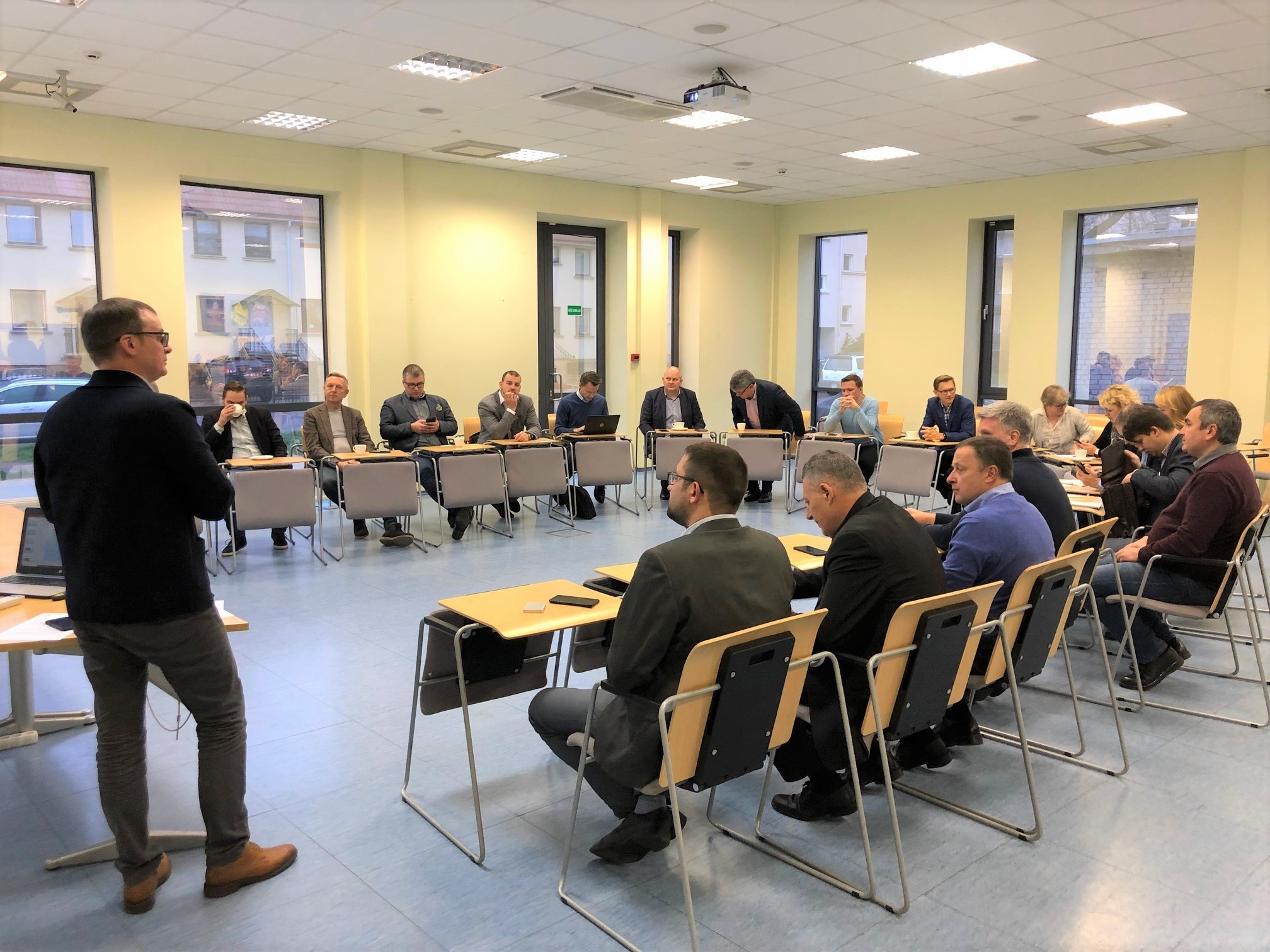 WP 6.4—Regional Match Making Event, Discussion about Digital Solutions for The Logistics of Biomass, Klaipėda