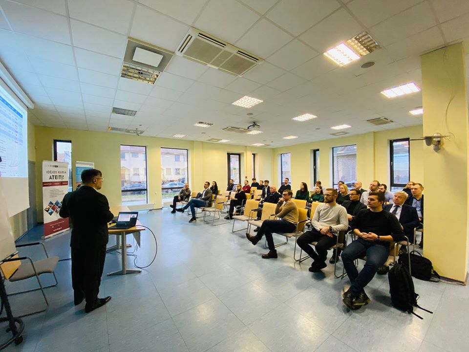WP 4.2- IoT Training Programme for Small Port Terminal Personnel, Blockchain and IoT Technologies for Transport seminar, Klaipėda
