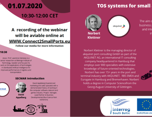 Transport Forum in joint online webinar with SECMAR project